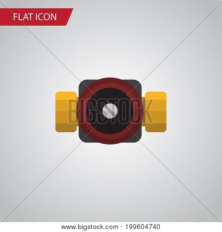 Tap Vector Element Can Be Used For Faucet, Pump, Valve Design Concept.  Isolated Faucet Flat Icon.