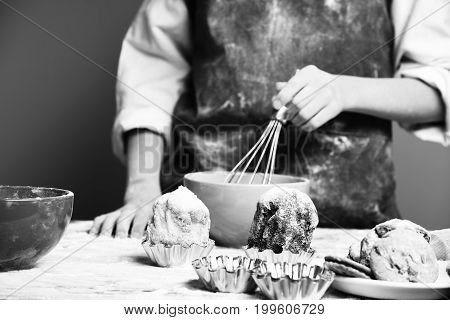 Male Hands Of Cook Chef