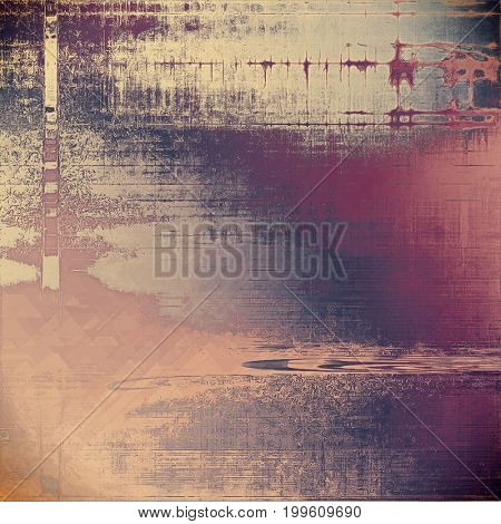 Grunge old texture used as abstract vintage style background. With different color patterns