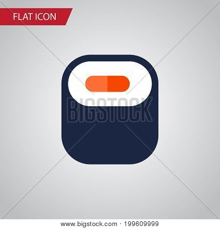 Maki Vector Element Can Be Used For Maki, Sushi, Seafood Design Concept.  Isolated Oriental Flat Icon.