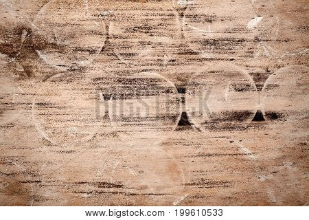 Abstract designed rotten moldy wood texture background