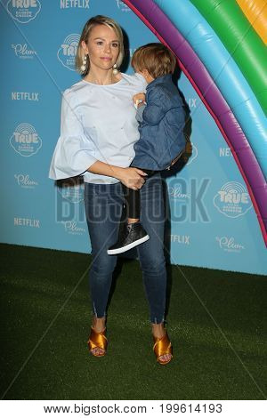 LOS ANGELES - AUG 10:  Julie Solomon, Guest at the True and the Rainbow Kingdom Series LA Premiere at the Pacific Theater At The Grove on August 10, 2017 in Los Angeles, CA