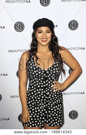 LOS ANGELES - AUG 12:  Natalie's Outlet at the 5th Annual Beautycon Festival Los Angeles at the Los Angeles Convention Center on August 12, 2017 in Los Angeles, CA