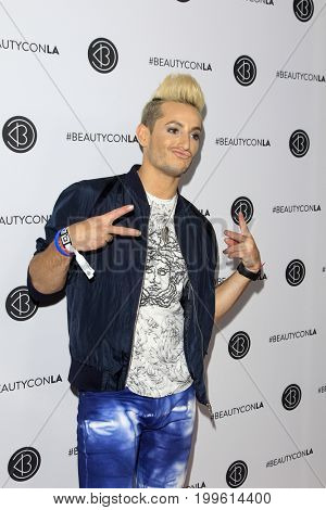 LOS ANGELES - AUG 12:  Frankie Grande at the 5th Annual Beautycon Festival Los Angeles at the Los Angeles Convention Center on August 12, 2017 in Los Angeles, CA