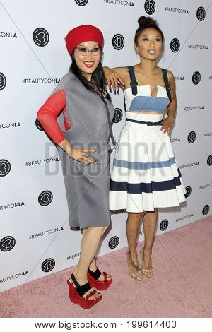 LOS ANGELES - AUG 12:  Jeannie Mai, Olivia TuTram Mai at the 5th Annual Beautycon Festival Los Angeles at the Los Angeles Convention Center on August 12, 2017 in Los Angeles, CA