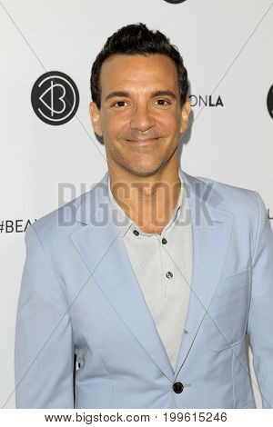 LOS ANGELES - AUG 12:  George Kotsiopoulos at the 5th Annual Beautycon Festival Los Angeles at the Los Angeles Convention Center on August 12, 2017 in Los Angeles, CA