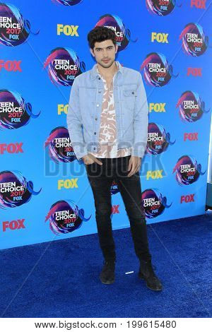 LOS ANGELES - AUG 13:  Carter Jenkins at the Teen Choice Awards 2017 at the Galen Center on August 13, 2017 in Los Angeles, CA