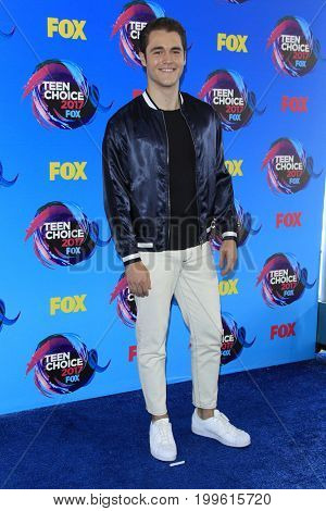 LOS ANGELES - AUG 13:  Charlie DePew at the Teen Choice Awards 2017 at the Galen Center on August 13, 2017 in Los Angeles, CA