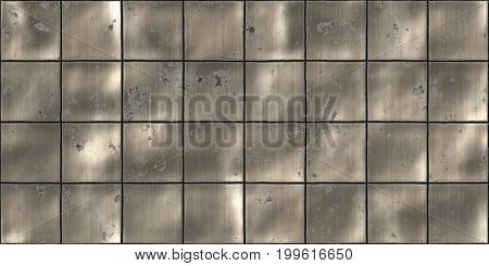 Rusty Cooper Seamless Metal Tile Plate Texture