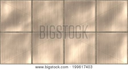 Dirty Seamless Metal Tile Plate Texture