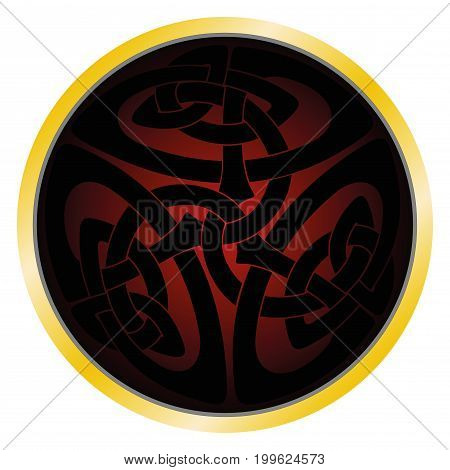tattoo, celtic, black, isolated, rough, round, brutal, weave, abstract, gothic, strict, secret, fate, fortune, telling, suspense