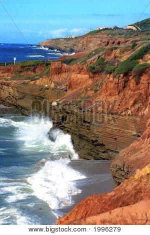 San Diego Rugged Coastline