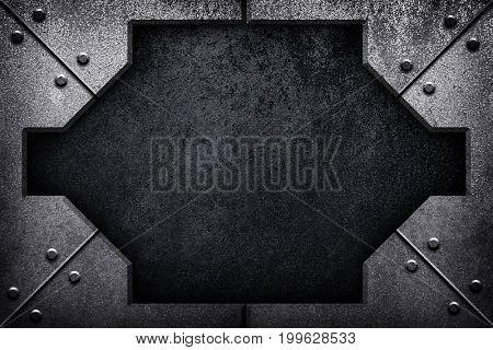 rusty iron design background
