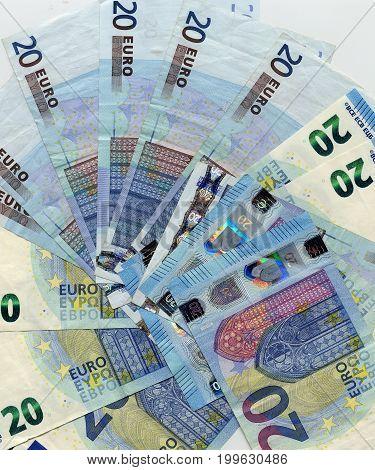 20 Euro Note, European Union Background