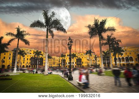 Lima Is A City On The Pacific Coast Of South America