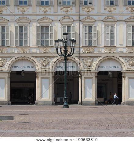Piazza San Carlo In Turin