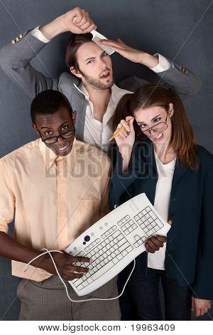 Trio Of Odd Adults
