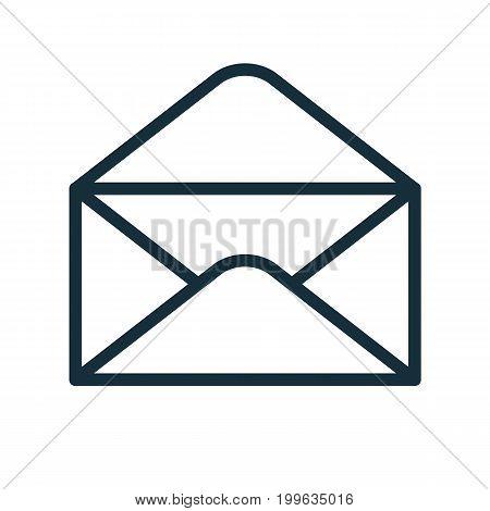 Envelope Icon Flat Transparent Open
