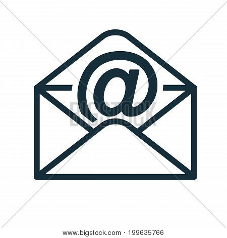 Envelope Icon Flat Transparent Open Email