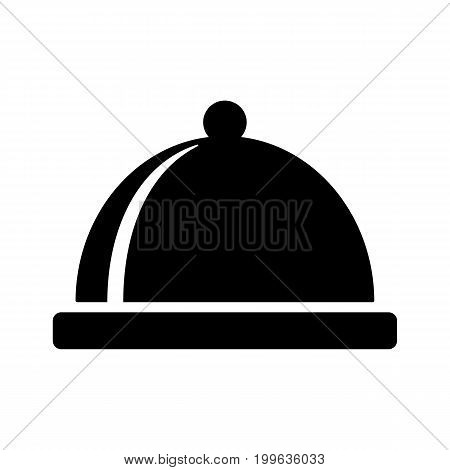 Restaurant Cloche Black Icon