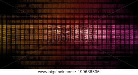 Software Development with Coding Abstract Background Technology