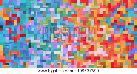Fun Video Game Pixel Background as a Abstract Concept