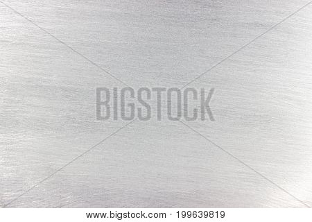Weathered Texture Of Metal, Light Gray Steel Surface, Background For Design