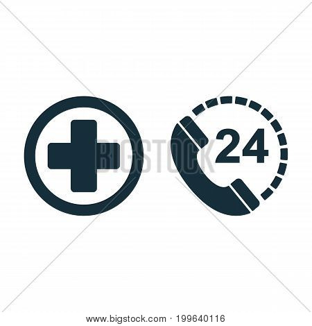 Medical Sign Plus Nonstop Phone Icon