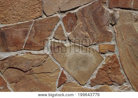 the beautiful texture of a natural stone