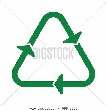 Recycle Icon Green Arrow