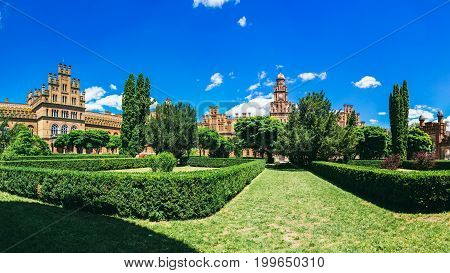 Chernivtsi National University - Yuriy Fedkovych Chernivtsi National University is the leading Ukrainian institution. Yuriy Fedkovych Chernivtsi National University. Europe. June 28.2015 Ukrainian