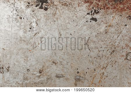 Grunge metal background industrial metal iron plate space for text