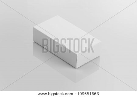Blank Product Packaging Box For Mock ups
