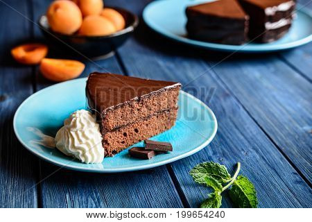 Traditional Sacher Cake