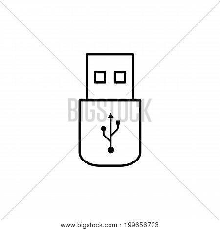 Usb Flash Drive Outline Icon