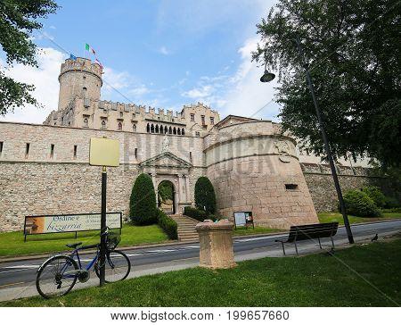 Buonconsiglio Castle In Trento, Italy