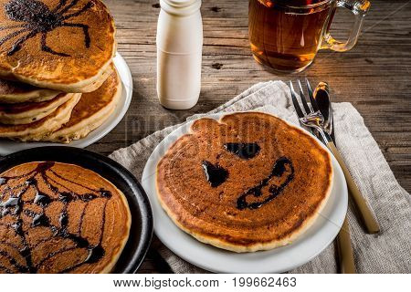 Halloween Pancakes For Children