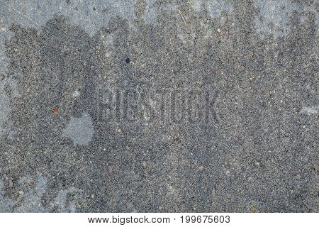 Photo of gray background with small stones