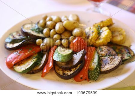 Ratatouille On The Plate