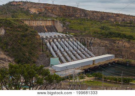 Furnas  Hydroelectric Power Plant, Capitólio, Minas Gerais, Brazil