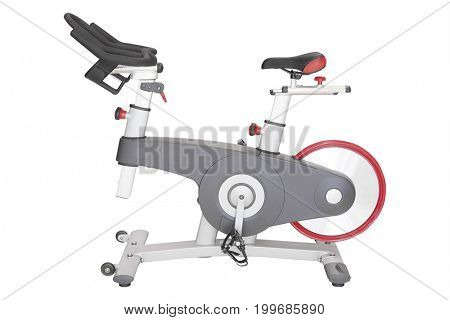 Fitness bicycle close up