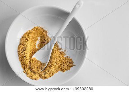 cumin seeds with powder (Ground cumin )