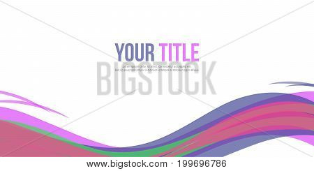 Website header style abstract background vector art illustration