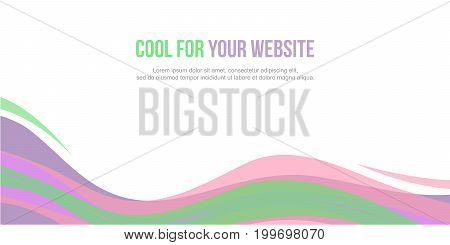 Abstract background header website design vector illustration poster