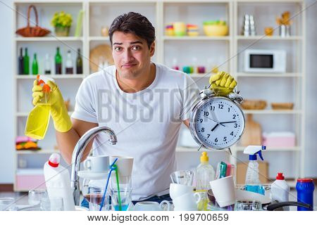 Man failing to meet the deadlines of housekeeping job