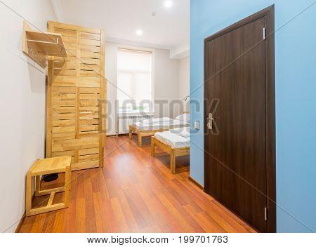 Hotel room interior modern design