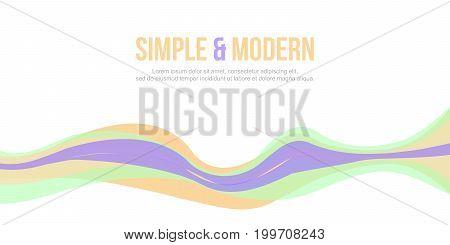 Abstract background design website header modern vector illustration