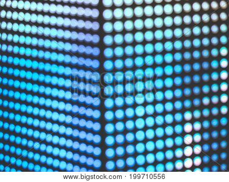 Abstract Pink color blur de focused of RGB led screen background, Digital art concept