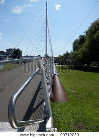 Cycle And Foot Bridge