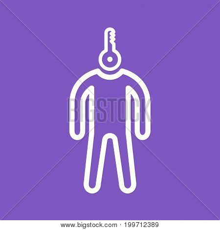 Personality, business, important icon vector image. Can also be used for Personality Traits. Suitable for web apps, mobile apps and print media.